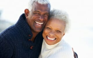 couple with great teeth